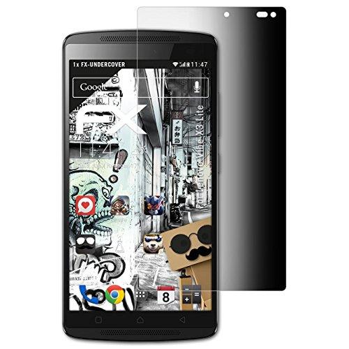 atFolix Blickschutzfilter kompatibel mit Lenovo Vibe X3 Lite / K4 Note Blickschutzfolie, 4-Wege Sichtschutz FX Schutzfolie
