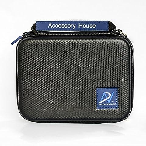 Étui de transport protectif Portatif pour le stockage en Voyage pour GoPro Hero 2 3 3 + 4 caméras et accessoires (Taille