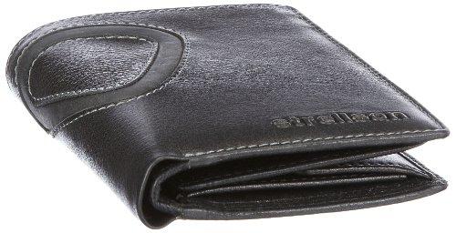 Strellson Waterloo BillFold H7 22/35/08246, Herren Geldbörsen, Braun (dark brown 702), 10x13x1 cm (B x H x T) Schwarz (black 900)