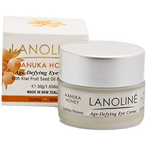 Lanoline Age-defying Manuka Honey Eye Cream with Kiwifruit Seed Oil by Lanoline