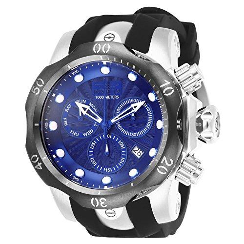 Invicta Venom Herren-Armbanduhr Armband Kunststoff Schweizer Quarz 25901 (Uhren Invicta Männer Venom Für)