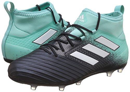 adidas Men    s Ace 17 2 Fg Footbal Shoes  Multicolor  Energy Aqua FTWR White Legend Ink   10 UK