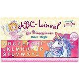 Regla con letras A-Z de la princesa Lillifee.