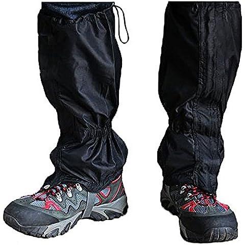 TRIXES 1 Paio di ghette coprigambe impermeabili per attività all'aperto escursionismo camminate arrampicate neve