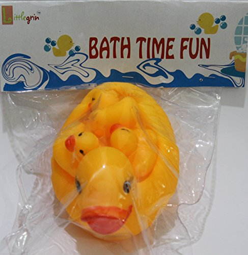 DUCKY BABY BATH SQUEEZE TOY