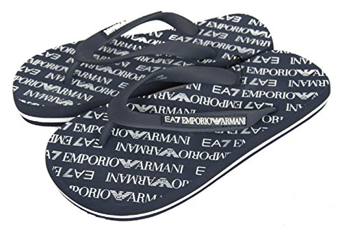 Infradito unisex emporio armani 7 art. 905010-cc295-06935 col. foto mis. a scelta (39, blu scuro)