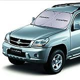 HomeLava Auto Sonnenschutz, Klappbarer beim Fahren, direkte Sonneneinstrahlung zu reduzieren,150 x 80 cm