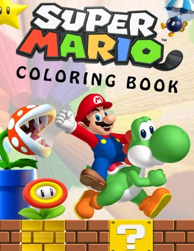 Preisvergleich Produktbild Super Mario Coloring Book: Great Coloring Book for Kids and Any Fan of Super Mario Characters.