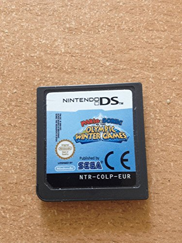 DS - Mario&Sonic Winter Olympic Games, 1St. - Sonic Ds Und Mario