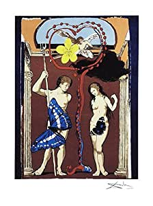 Salvador Dali – Les amoureux Poster (45,72 x 60,96 cm)