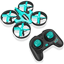 RCtown ELF Mini Drone 2,4 GHz 4CH Mini UFO Quadcopter Drone mit 6-Achsen-Gyro Headless Modus Fernbedienung Nano Quadcopter