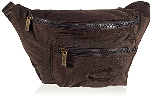 Camel Active Journey Borsa B00 301 60, 22cm, 2L, Nero Marrone