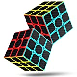 cfmour Rubiks cube Speed Cube 3x3,rubix cube,speed rubiks cube Carbon Fiber Sticker Smooth