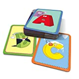 Best Educational Insights Card Games - LeapFrog LeapReader/Tag Junior Interactive Letter Factory Flash Cards Review