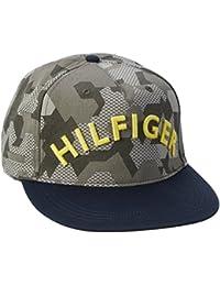 Hilfiger Denim Herren Baseball Thdm Cap 10, Mehrfarbig (Camouflage Forest Night/ Black Iris 902), One size (Herstellergröße: OS)