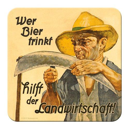 Nostalgic-Art 46130 Bier und Spi...