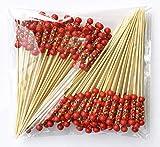 LMing Cocktail-Sticks 100 zählt Holz zahnstocher Partei liefert Frill Finger Essen früchte Sandwich knabber - Japanische Rote Perlen