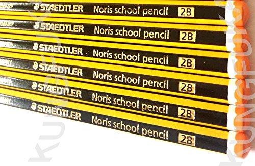STAEDTLER NORIS SCHOOL PENCILS 2B [Box of 36]