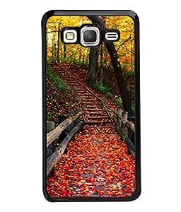 Fuson Designer Back Case Cover for Samsung Galaxy Grand Prime :: Samsung Galaxy Grand Prime Duos :: Samsung Galaxy Grand Prime G530F G530Fz G530Y G530H G530Fz/Ds (line strips stars rangoli art)