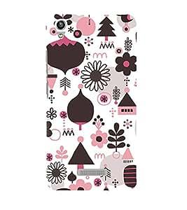 EPICCASE Trendy Village Mobile Back Case Cover For Lava Pixel V1 (Designer Case)