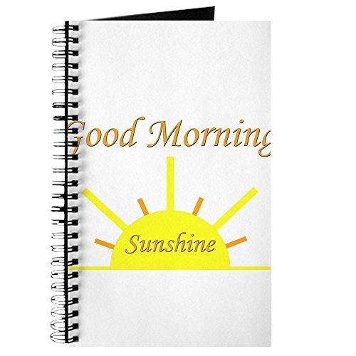 CafePress–Good Morning Sunshine. Png–Spiralbindung Journal Notebook, persönliches Tagebuch, Aufgabe Tagebuch