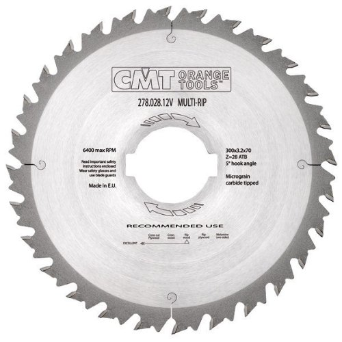 CMT Orange Tools 278,036,14 Scie multiple 350 m x 30 x 2,5/3,5 z 36