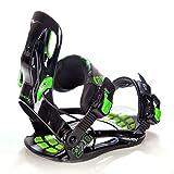 Snowboard Set: Snowboard Raven Core Rocker 2018 + Bindung Raven s220 Green (155cm Wide + s220 Green XL) - 6