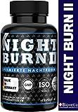 NIGHT BURN 2 Burner Kapseln für die Nacht, Stoffwechsel Multisupport im Schlaf, die Nummer 1...