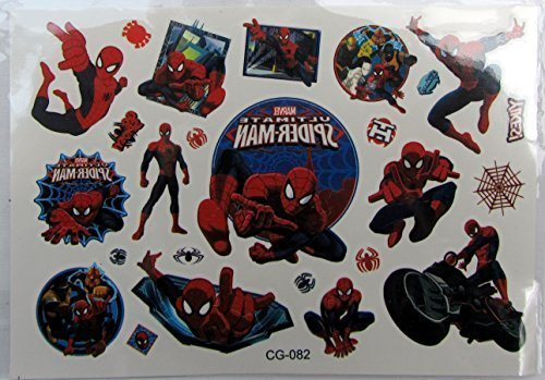 shihan-spiderman-2-tattoos-movie-movie-superheroes-union-child-flash-tattoo-sticker-waterproof-tempo