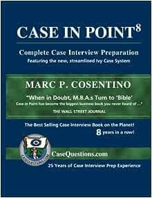 Amazon. Fr case in point: complete case interview preparation.