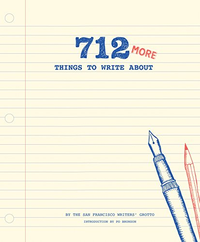 712 More Things to Write About (Journal)