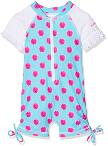 Snapper Rock Baby Einteiler Brombeer Anzug, Blau/Rot, 12-24 Monate, 86-92cm