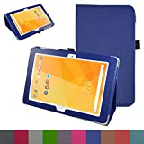 MediaPad M2 10.0 Case,Mama Mouth PU Leather Folio 2-folding Stand Cover with Stylus Holder for 10.1
