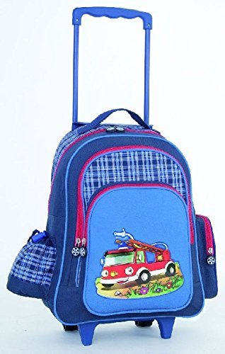 Kinder Reisetrolley blau