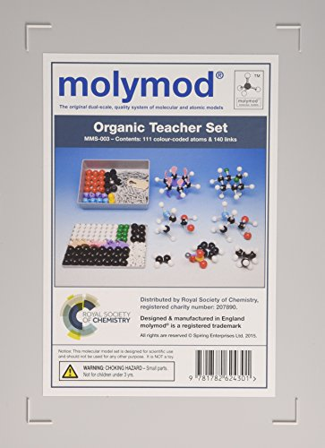 Molymod Mms-003: Organic Teacher 111 Atom Set por Royal Society of Chemistry
