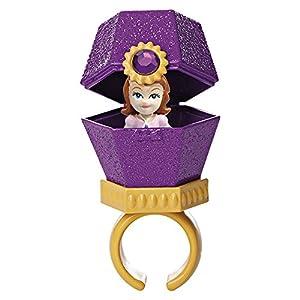 Princesa Sofía - Diamante Anillo + Pendientes, Color Amarillo + 3 Mini muñecas (Giochi Preziosi 15154)
