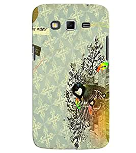 Samsung Galaxy GRAND 2 MULTICOLOR PRINTED BACK COVER FROM GADGET LOOKS