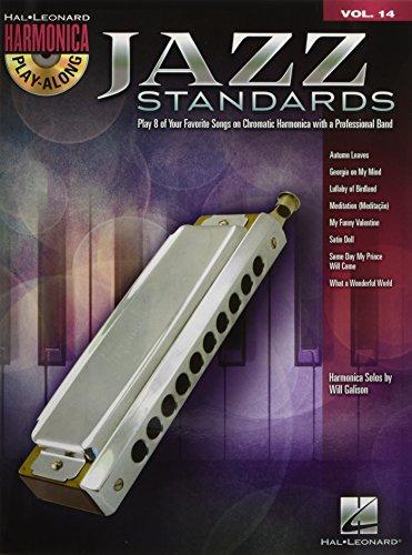 Harmonica Play-Along Volume 14: Jazz Standards (Book/CD) (Hal Leonard Harmonica Play-along)