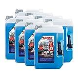 SONAX 8X 02325050 Xtreme AntiFrost+KlarSicht Konzentrat Scheiben Frostschutz 5L