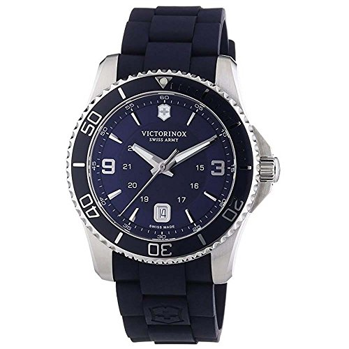 Victorinox Swiss Army Men's Watch XL Analogue Rubber Quartz 241603 Maverick