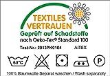 2er Pack Saunatücher Julie Julsen in vielen Farben reine Baumwolle Qualität 500 gsm Strandtuch Silbergrau 80 x 200 cm -
