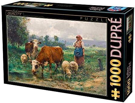 Dans l'attente de la la la ville, retenant votre souffle D-Toys Puzzle 1000 pcs, 72788DU02, Uni   Stocker  4cf8b9