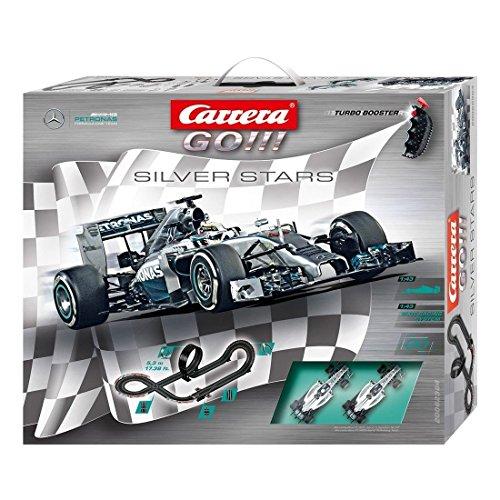Carrera 20062364 - Go Silver Stars, Spielbahnen Preisvergleich