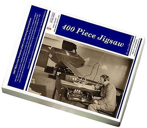 Photo Jigsaw Puzzle of RAF Volunteer Reserve pilot undertaking instruction