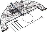 Trappola a rete 100x60 cm I Protegge le tue proprietà I Facile cattura I Trappola per uccelli, trappola per gazze, trappola per piccioni, trappola per corvi