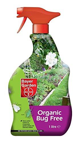Organic Bug Killer Greenfly Whitefly Killer Bayer Organic Bug Free 1 litre