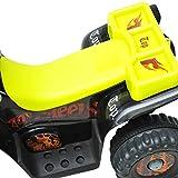 Homcom® Kinderauto Kinderwagen Elektroauto Kinderfahrzeug Kindermotorrad Quad Elektroquad Kinderquad Elektromotorrad (Elektroquad/gelb-schwarz) - 7