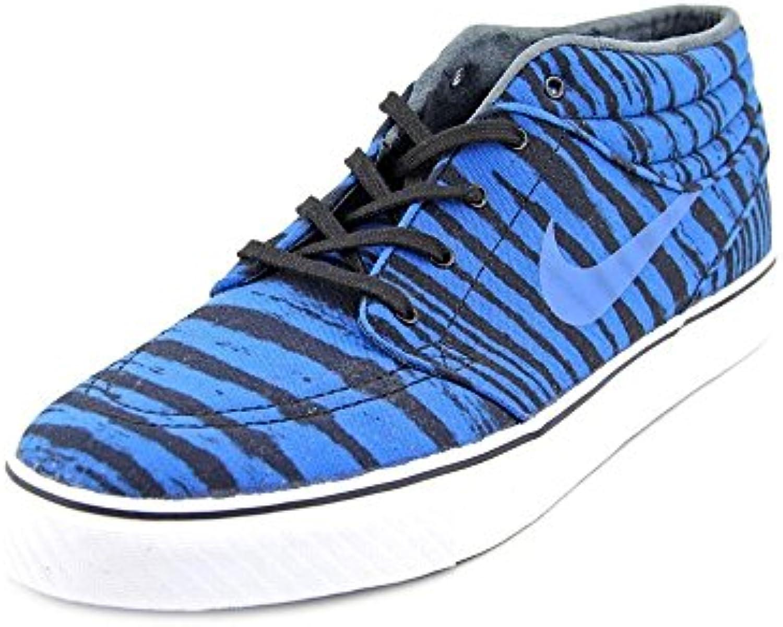 Nike hombres Stefan Janoski Mid Prm azul Sneakers 10 M US