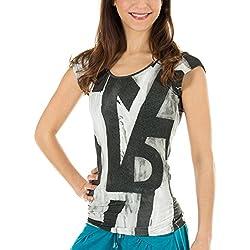 Camiseta Yogui manga corta mujer
