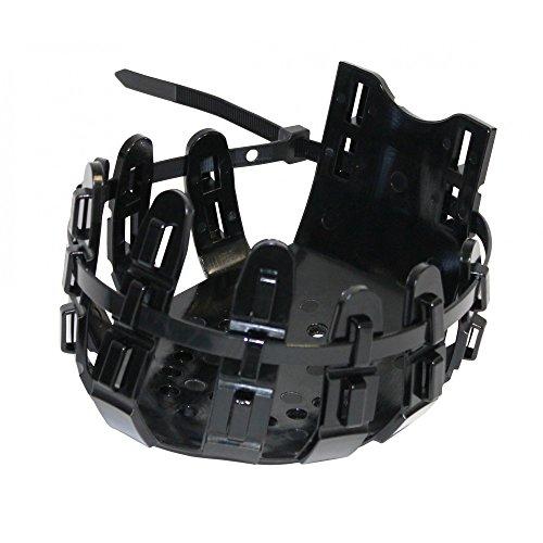 Vet-Way Hufschutz mit 10 Kabelbindern (Large) (Schwarz)